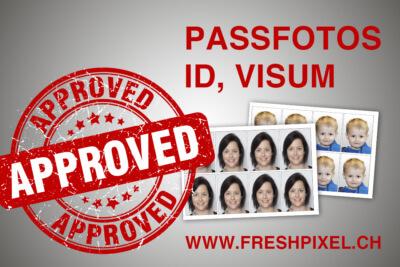 Biometrische Passfotos in Zürich