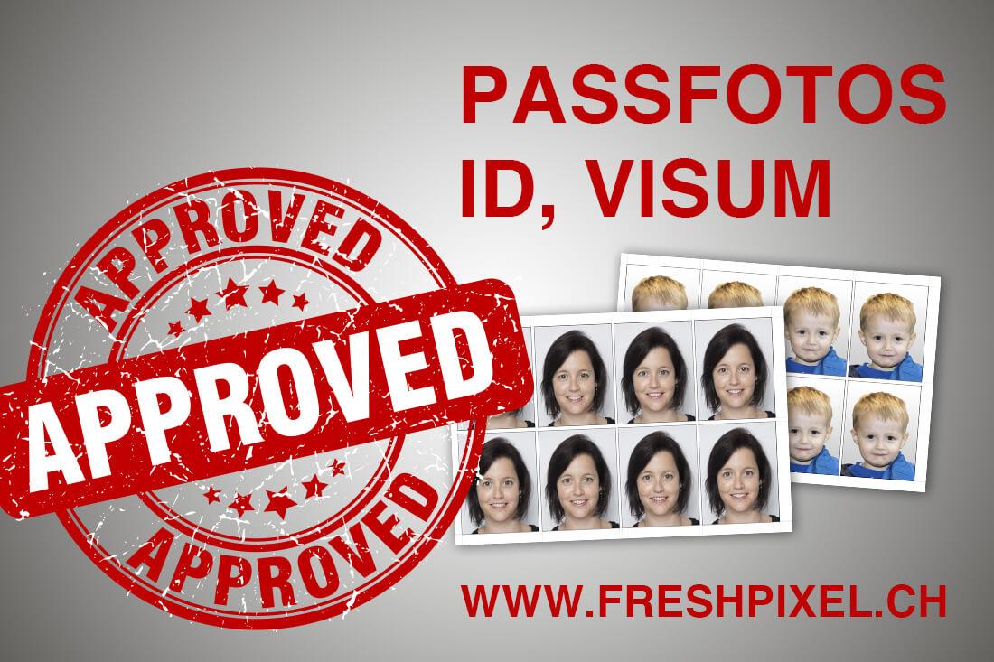 Passfotos, Passfotos, ID, Visum und Babyfoto Fotoshooting
